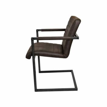 Chaise en cuir de style...