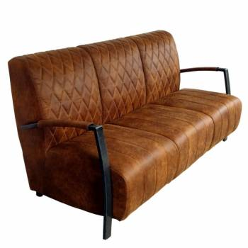 Canapé 3 places en cuir de...