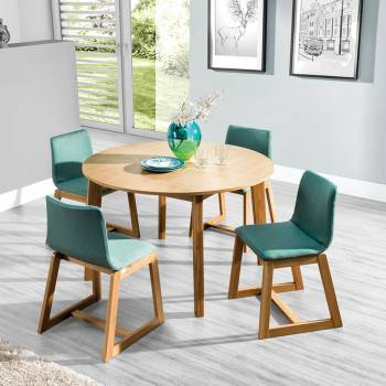 Table ronde extensible SCANDI