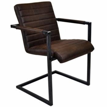 fauteuil de style industriel et vintage