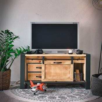 Petit meuble TV industriel FACTORY 120