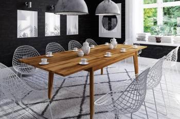 Table extensible en chêne massif BIANCO