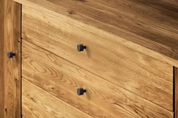 Buffet 2 portes / 4 tiroirs en chêne massif RETRO